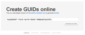 4 ways to generate a GUID | Pragmateek