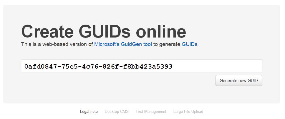 GuidGen.com